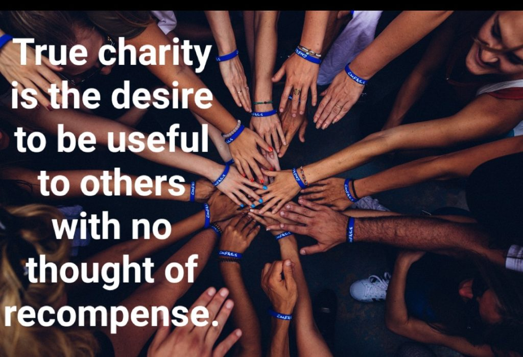 International Day of Charity 2019 Quotes, Activities