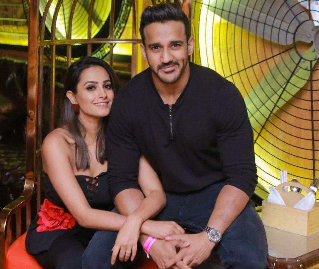 Rohit Reddy With Wife Anita