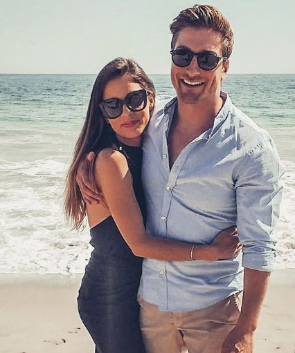 Daniel Lissing With Girlfriend